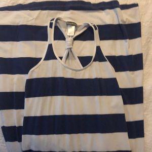 Tommy Bahama striped maxi dress